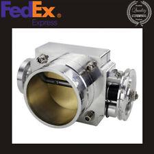Universal 70mm High Flow Intake Aluminum Manifold Billet Throttle Bodyus Stock