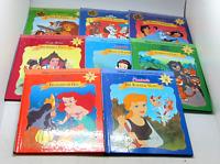 Disney's Storytime Treasures Library Volumes 1-8 Cinderella Lion King Snow White