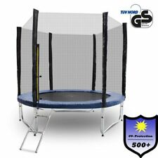 250 cm Outdoor Trampolin Gartentrampolin Fitness 2,50m Komplettset für Garten
