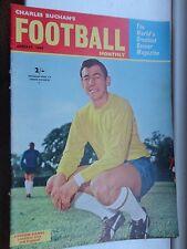 Charles Buchan de fútbol mensual 1964 de enero no149 Burnley