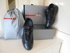 Prada Americas Cup Trainers size 8 black