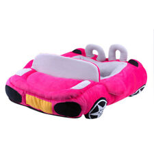 Car Shape Dog House Kennel Puppy Cave Sleeping Bed Soft Mat Pad Warm Nest