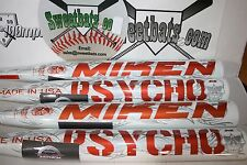 New Miken Psycho Balanced Balance 34 28 SPSYBU HOT softball bat NIW 2014 Rare