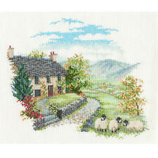 Derwentwater Designs Countryside Cross Stitch Kit - High Hill Farm