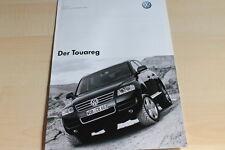 132615) VW Touareg - Preise & Extras - Prospekt 11/2002