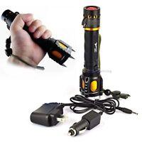 2200lm CREE XM-L T6 LEP multifonction Lampe torche + AC / chargeur de voiture EH
