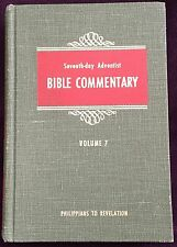 Seventh-day Adventist Bible Commentary Vol 7 1957 Francis Nichol Editor HB SDA