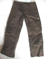 Burton Ski Pants Women's Small S BROWN Snowboard / Winter