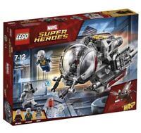 LEGO MARVEL SUPER HEROES ANT-MAN 76109 Quantum Realm Explorers NISB NEW & SEALED