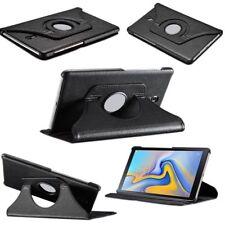 Per Samsung Galaxy Tab S4 10.5 T830 T835F Nero 360 Grado Cover Ecopelle Nuovo