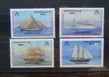 Anguilla 1986 Christmas Ships set LMM