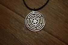 magic symbol logo sharm pin ring Hekate wheel necklace pendant strophalos hecate
