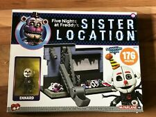 """FNAF Sister Location """"The Scooping Room"""" Construction Set!  ~ NEW In Box ~ (NIB)"""