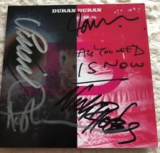 AUTOGRAPHED DURAN DURAN All You Need Is Now CD SIGNED BGS Authentic