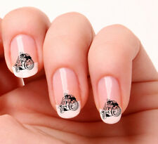 20 Nail Art Decals Transfers Stickers #334 - Motorbike Racing