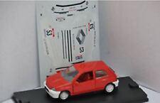 VEREM 749 RENAULT CLIO diecast model rally car 1991 racing number 53 1:43rd