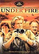Under Fire DVD from MGM (Nick Nolte, Gene Hackman, Cassidy) Rare & OOP W/insert
