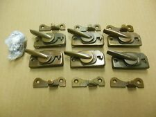 6 Andersen Double Hung Cam Locks complete with Keepers and Screws