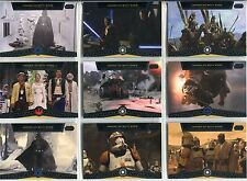 Star Wars Galactic Files Complete Heroes On Both Sides Chase Card Set HB1-10