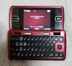 LG EnV2 VX9100 Maroon Verizon Cellular Phone