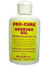 Pro-Cure Herring Bait Oil 2 oz Bottle Fishing Scent Attractant