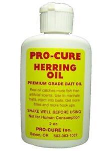 Pro-Cure Herring Bait Oil 2 oz Bottle Fishing Scent Attractant