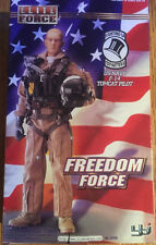 WWII ELITE FORCE BBI US NAVY F-14 TOMCAT FIGHTER PILOT 1/6 FIGURE DID DRAGON