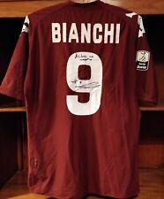 Torino maglia match worn Bianchi 2010-2011