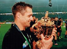 Dan CARTER Signed Autograph 11x8 Photo AFTAL COA RUGBY World Cup WINNER RARE