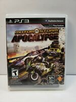 MotorStorm Apocalypse PS3 (Sony PlayStation 3, 2011) with Manual TESTED