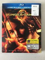 ⭐️The Hunger Games (Blu-ray Disc, 2012, 2-Disc Set) w/ Slipcover ~NEW~