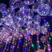 "30LED Colorful String Light 18"" Balloon Christmas Home Garden Party Decor Helium"