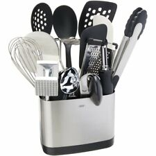 OXO  Good Grips 1069228 15-Piece Everyday Kitchen Tool Set - Silver