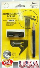 NEW Forest Rivers Combination SCRIBE CARBIDE TIP METAL WOOD WORKER Made in USA