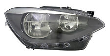 Fits Bmw 1 Series 12-15 Headlight With Motor Rh Right Drivers Offside