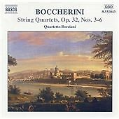 Boccherini-String Quartets, Op 32 Nos 3-6, Quartetto Borciani, Good CD