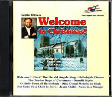 LESLIE OLIVE-Welcome To Christmas-English Arts Orchestra-CD -Gerard Brooks Organ
