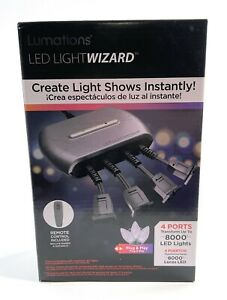 Lumations LED Light Wizard Christmas Halloween Light Show w/Remote Control New