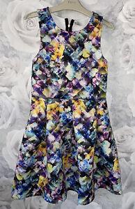 Girls Age 10-11 Years - Pretty Summer Dress