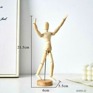 Movable Joint Doll Statue Sculpture Figurine Tabletop Home Office Decoration Art