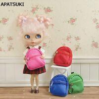 "Fashion 1:6 Dolls Bag Backpack For Blythe Doll Knapsack For 11.5"" Dollhouse Toy"