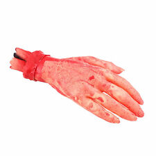 2 x Bloody Fake Severed Zombie Hand Costume Halloween Party Decorations