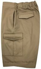 Big & Tall Men's Falcon Bay Cargo Shorts Expandable Waistband 2XL - 10XL #450