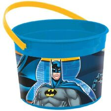 Amscan Batman Birthday Party Plastic Favor Container