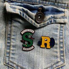 Riverdale Set of 2 Enamel Pins Southside Serpents River Vixens Stocking Stuffer