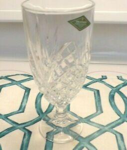 8 NEW GODINGER SHANNON DEEP CUT IRISH CRYSTAL DUBLIN SET ICED BEVERAGE GLASSES