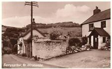 Berrynarbor Globe Inn Pub Nr Ilfracombe unused RP old pc English Series