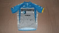 Discovery Channel Trek Nike Dri-Fit Men's Size Large Cycling Jersey