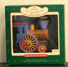 Tin Locomotive, Tin Locomotive Collector Series #7, Hallmark Keepsake Ornaments