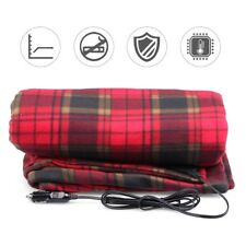 Car Blanket Heated 12 Volt Travel Throw for Car for Cold Weather 150*110cm/59x43
